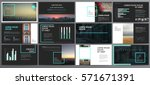 presentation templates. use in... | Shutterstock .eps vector #571671391