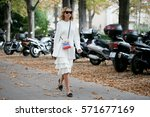paris september 30  2016.... | Shutterstock . vector #571677169