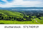 silicon valley panorama from... | Shutterstock . vector #571740919