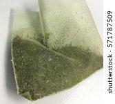 Small photo of Green tea bag,tea bag
