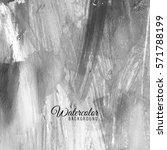 abstract grey watercolor... | Shutterstock .eps vector #571788199