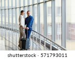 couple in love on vacation.... | Shutterstock . vector #571793011