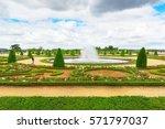 versailees  france  july 02 ... | Shutterstock . vector #571797037