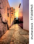pathways leading to old bahrain | Shutterstock . vector #571838965