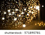 wedding ceremony evening with... | Shutterstock . vector #571890781
