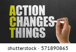 Small photo of ACT - Action Changes Things