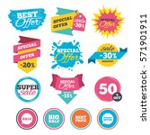 sale banners  online web...   Shutterstock .eps vector #571901911