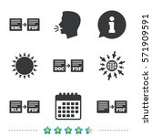 export file icons. convert doc... | Shutterstock .eps vector #571909591