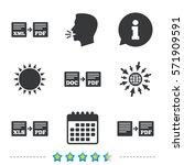 export file icons. convert doc... | Shutterstock .eps vector #571909591