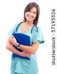 Smiling Medical Doctor With...