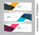 vector design banner background. | Shutterstock .eps vector #571968601