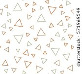 random triangles pattern.... | Shutterstock .eps vector #571969549