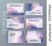 design elements presentation... | Shutterstock .eps vector #571999465