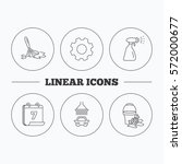 car wash icons. automatic... | Shutterstock . vector #572000677