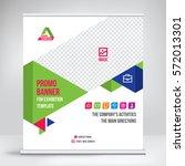banner roll up design  business ... | Shutterstock .eps vector #572013301