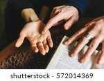 Palmistry Concept. Human Hand ...