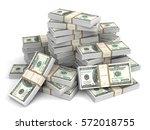 Money Bills 3d Illustration...