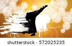 karate warrior | Shutterstock .eps vector #572025235