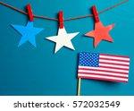 patriotic  concept   usa ...   Shutterstock . vector #572032549