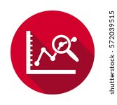 data analysis flat icon. | Shutterstock .eps vector #572039515