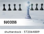 chess with flare and text... | Shutterstock . vector #572064889