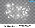 lights on transparent... | Shutterstock .eps vector #572071069