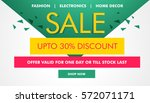 modern sale and coupons voucher ... | Shutterstock .eps vector #572071171