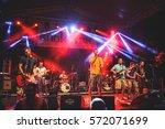 novi sad  blockstock festival   ... | Shutterstock . vector #572071699