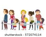 stickman illustration of... | Shutterstock .eps vector #572074114