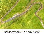 cotopaxi national park access... | Shutterstock . vector #572077549