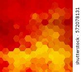abstract hexagons vector... | Shutterstock .eps vector #572078131