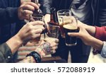 craft beer booze brew alcohol... | Shutterstock . vector #572088919