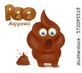 Feces Emoji Funny Character....