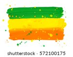 bright colorful tricolor... | Shutterstock .eps vector #572100175