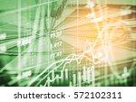 money target on stock market...   Shutterstock . vector #572102311