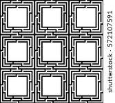 abstract geometric maze pattern.   Shutterstock .eps vector #572107591