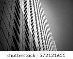 windows of commercial building... | Shutterstock . vector #572121655