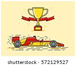 formula racing car | Shutterstock .eps vector #572129527