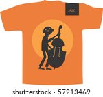 vector t shirt design | Shutterstock .eps vector #57213469