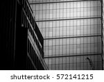 windows of commercial building... | Shutterstock . vector #572141215