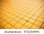 blnak go game chessboard... | Shutterstock . vector #572154991