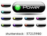 various web buttons | Shutterstock .eps vector #57215980