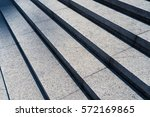 Detail Shot Of Stone Stairs In...