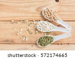 soybeans  green beans and... | Shutterstock . vector #572174665
