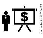 vector illustration of man and... | Shutterstock .eps vector #572176324