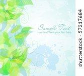 green background | Shutterstock .eps vector #57217684