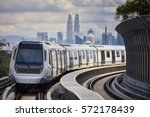 mass rapid transit  mrt  train... | Shutterstock . vector #572178439