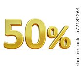 gold sale 50   gold percent off ... | Shutterstock . vector #572182264