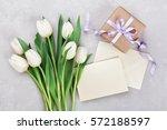 Spring Tulip Flowers  Gift Box...