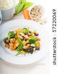 fresh chicken and vegetables... | Shutterstock . vector #57220069